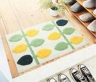【優惠出清】時尚創意地墊218 廚房浴室衛生間臥室床邊門廳 吸水長條防滑地毯(45*65cm)