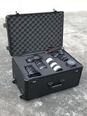 防震專業攝影器材拉桿箱相機單反鏡頭收納裝備行李防潮箱子 NMS小明同學