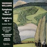 【停看聽音響唱片】【CD】佛漢.威廉士:第3,第4號交響曲 馬汀.布拉賓斯 指揮