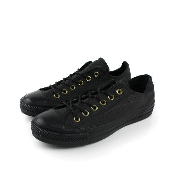 CONVERSE Chuck Taylor All Star 休閒鞋 皮革 休閒 黑色 男女鞋 UNISEX 151251C no245