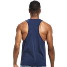 -背心-大挖胸挖背 透氣低開衩健身運動服背心 男上衣【AC_E505】