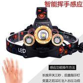 頭燈強光充電超亮頭戴式感應3000打獵米夜釣釣魚led變焦鋰電礦燈 酷斯特數位3c