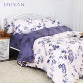 《竹漾》天絲雙人加大床包被套四件組- 紫藤樹下