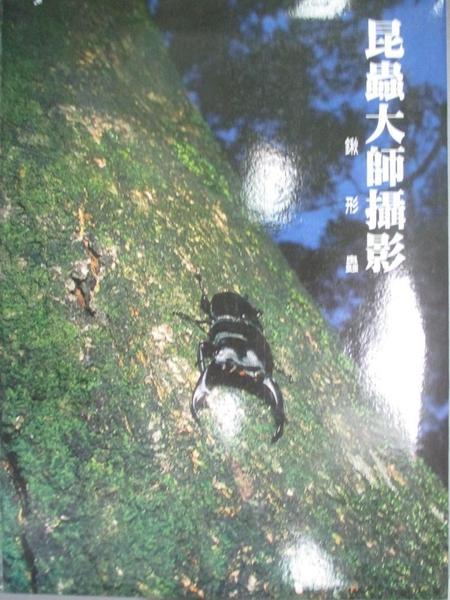 【書寶二手書T1/攝影_WED】昆蟲大師攝影典藏集-鍬形蟲_汪良仲