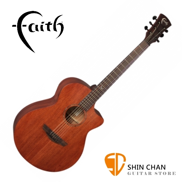 Faith 英國名牌 FKVMG-NPX 41吋 全單板 民謠吉他 附贈吉他硬盒 CASE 印尼製