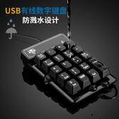 數字小鍵盤財務會計筆記本電腦外置有線USB密碼 機械手感數字鍵盤·享家生活馆