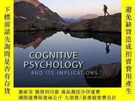 二手書博民逛書店Cognitive罕見Psychology And Its Implications-認知心理學及其啟示Y43
