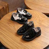 2018春季新款兒童鞋男童黑色皮鞋中小大童學生寶寶表演單鞋休閒鞋