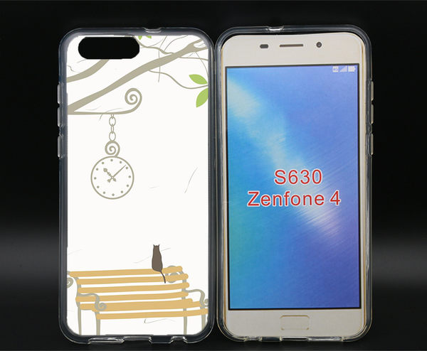 ✿ 3C膜露露 ✿ZenFone4(ZE554KL){椅子*空壓立體浮雕軟殼} 手機殼 手機套 保護殼