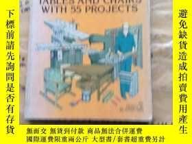 二手書博民逛書店Constructing罕見tables and chairs with 55 projectsY252403
