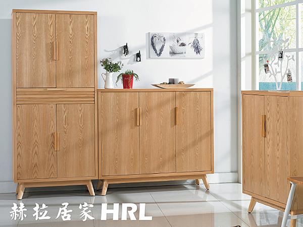 【 赫拉居家 】挪威白蠟木 鞋櫃 _ 三門