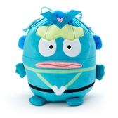 小禮堂 人魚漢頓 造型絨毛束口袋 旅行收納袋 小物袋 縮口袋 (綠 英雄戰隊) 4550337-06279