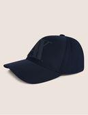 美國代購 現貨 AX ARMANI EXCHANGE 深藍色 LOGO 遮陽帽