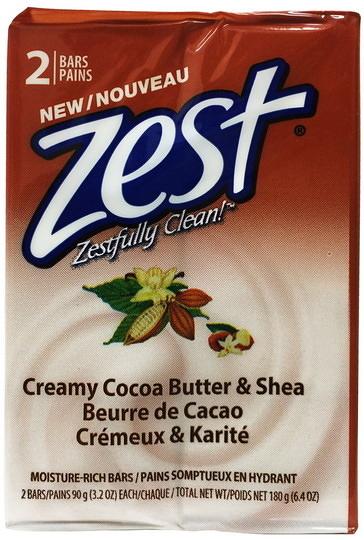 Zest 潤膚香皂 乳油木果90g*2/塊{嘉家生活網}