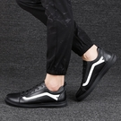 FINDSENSE品牌 秋款 新款 日本 男 高品質 簡約 透氣 清新小白鞋 個