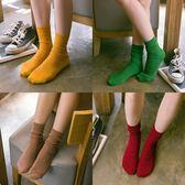 5雙裝堆堆襪女系中筒襪薄款日系學院風百搭棉襪子女長襪月光節88折