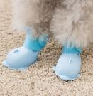 寵物鞋 泰迪狗狗鞋子春季軟底雨鞋不掉防臟防水寵物小型犬比熊博美鞋套【快速出貨八折搶購】