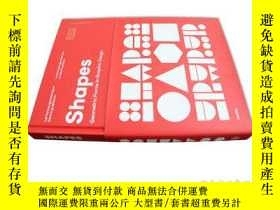 二手書博民逛書店Shapes罕見有形 幾何圖形在平面設計中的運用 品牌設計 包裝