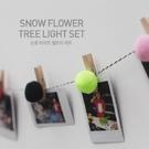 毛球小夾SG890 彩色ins毛球木夾子小夾子相片裝飾照片牆裝飾聖誕裝飾派對過年跨年萬聖節生日