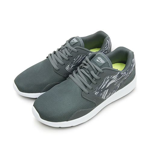 【男】ARNOR 超輕量訓練跑鞋 極度Q彈系列 灰迷彩 73168