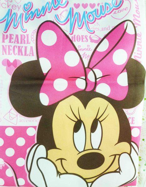 【震撼精品百貨】Micky Mouse_米奇/米妮~縮口袋-米妮粉