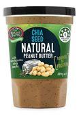 Mother Earth 紐西蘭奇亞籽花生醬 380g/罐(滿10罐再送芝麻海苔香鬆一罐)