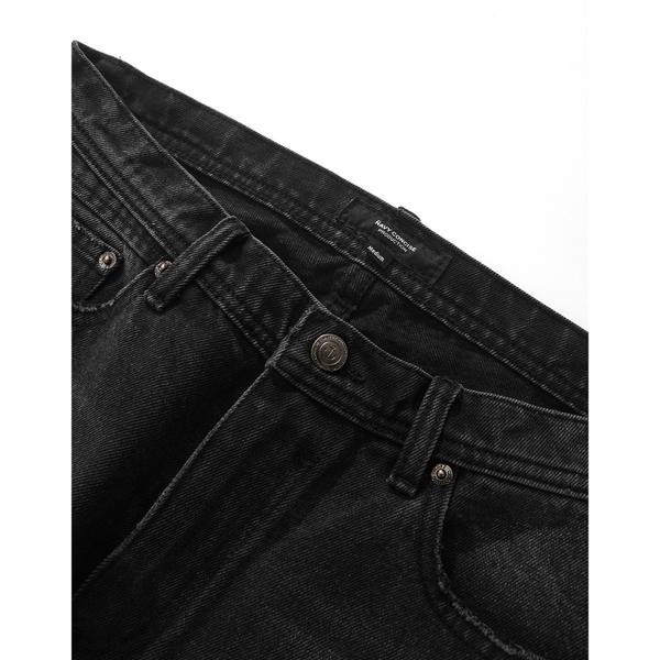 CACO-灰黑補丁牛仔褲-男【WNA045】