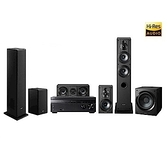 SONY 索尼 5.1 聲道劇院組 DH770 擴大機+SS-CS系列喇叭+重低音CS9