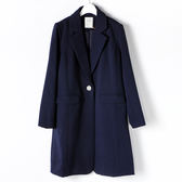 [titty&co]珍珠釦西裝外套(藍)