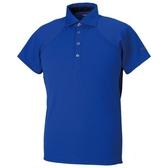 MIZUNO 男裝 短袖 POLO衫 ICE TOUCH涼感 舒適 素面 藍【運動世界】32MA908525