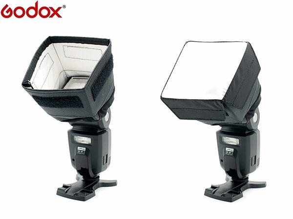 我愛買#神牛Godox通用型機頂閃燈柔光罩SB1010(小)SB910 SB700 600EX-RT 580EX2 58閃60閃43閃HVL-F58AM HVL-F60M