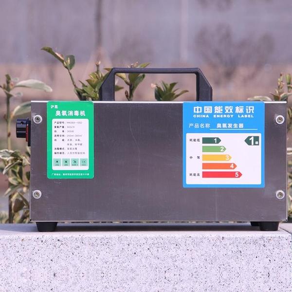 臭氧發生器臭氧消毒機30g空氣殺菌空間消毒機家用除甲醛滅菌機器 220V