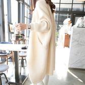 外套女開襟針織衫韓版寬鬆加厚春裝新款