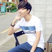 男士短袖t恤早新款韓版寬鬆潮流半袖男生打底衫男裝上衣服『夢娜麗莎精品館』
