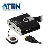 【鼎立資訊】ATEN 2埠USB HDMI KVM多電腦切換器 CS692 (廣)