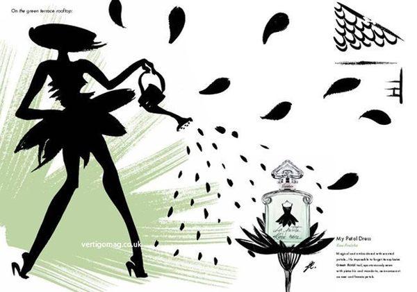 喬雅香水美妝~ GUERLAIN 嬌蘭 小黑裙 淡香露 花瓣洋裝 女性淡香水 100ML