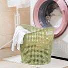 髒衣籃     塑膠髒衣籃浴室洗衣籃髒衣簍客廳玩具衣物收納籃大號髒衣服收納筐 ATF英賽爾3C數碼店