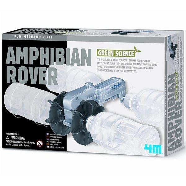 《4M科學探索》AMPHIBIAN ROVER 海陸巡邏艇 ╭★ JOYBUS玩具百貨