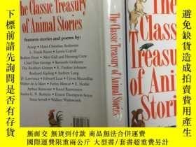 二手書博民逛書店The罕見Classic Treasury of Animal