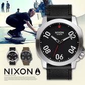 【人文行旅】NIXON | A466-008 Ranger 45 Leather 時尚百變