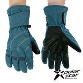 【 PolarStar 】男防水保暖觸控手套『灰藍』P18625 可觸控手套.防風手套.保暖手套.防滑手套.刷毛手套