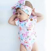 萬聖節狂歡 衣服連體衣嬰兒服裝夏季新生兒嬰幼兒~