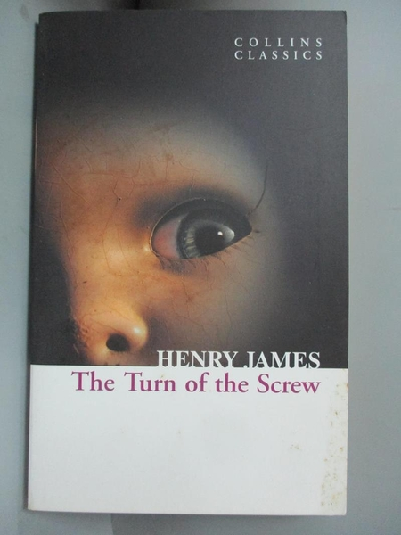 【書寶二手書T3/原文小說_GI6】The Turn of the Screw_Henry James