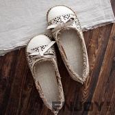 原宿風大頭娃娃鞋女鞋平底鞋羅馬涼鞋夏季新款文藝復古森女鞋