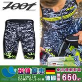 【超值優惠】男款吸濕排汗數位迷彩8吋鐵人褲Z1706030 + 德國樂活運動軟膏