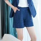 方格紋馬卡龍色口袋短褲[21S081-PF]美之札