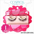 COSMOS自黏假睫毛(SW-009)-單對E41401(不需要另塗膠水)[84698]