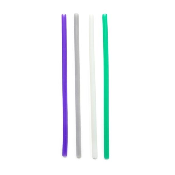 美國gosili環保矽膠吸管-珍奶組+27cm吸管四入組
