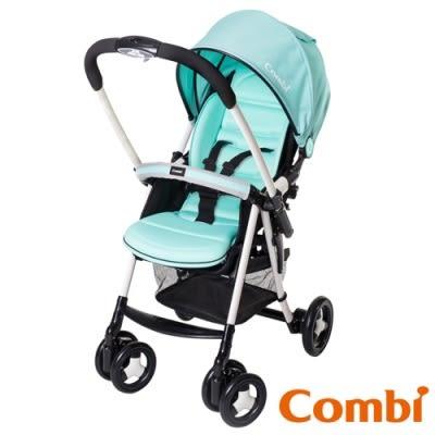 康貝 Combi 城市輕休旅雙向嬰幼兒手推車(Urban Walker Lite MC 風象綠TB)