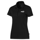 Puma 女 黑 短袖上衣 Polo衫 襯衫 運動 高爾夫 立體剪裁 排汗透氣 短袖 85389101